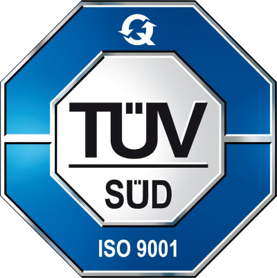 Eurogroup is QMS ISO:9001-2015 certified by TÜV SÜD